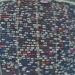 12 дней в пробке: как выглядит самый большой автомобильный затор в мире. ВИДЕО